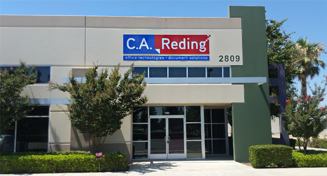 outside picture - c.a. reding company office in bakersfield, ca