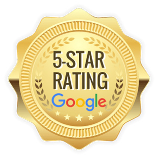 google 5 star rating for c.a. reding company