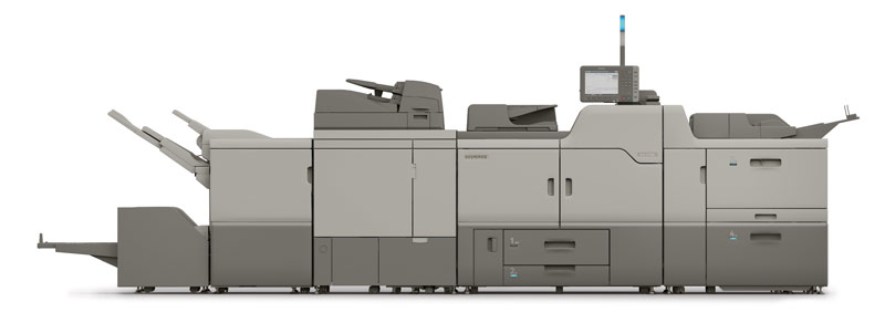 ricoh c7100 production printer for lease in fresno, california