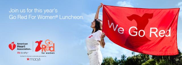 central valley go red luncheon at clovis veterans memorial district