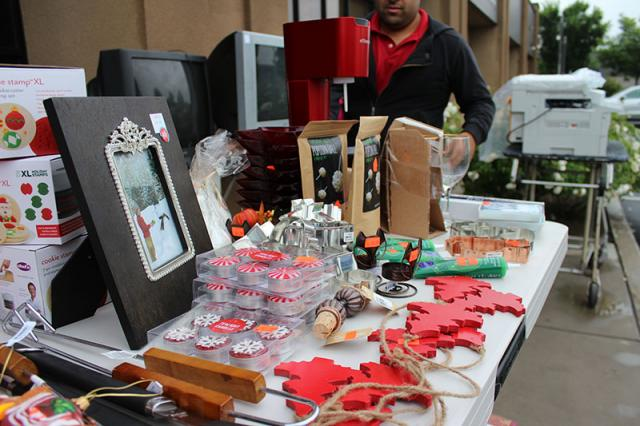 c.a. reding company rummage sale for community food bank